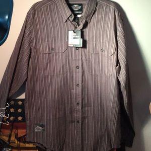 Genuine Long Sleeve Harley Davidson Dress Shirt
